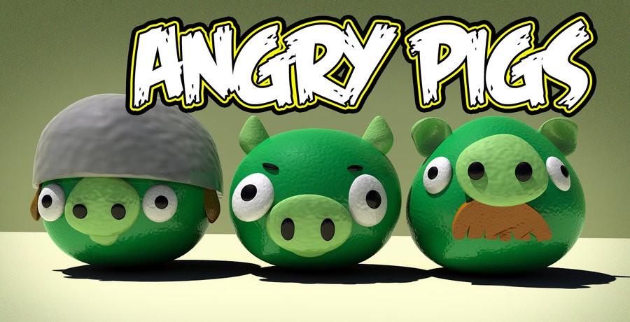Rovio pensa ad un nuovo videogame: Angry Pigs in arrivo?