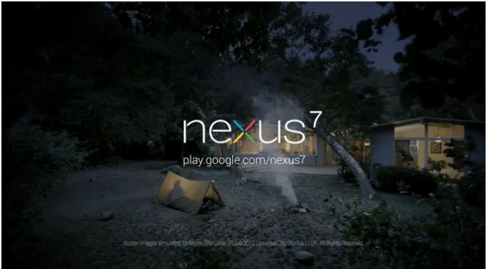 All'avventura con Nexus 7: ecco il primo spot per il tablet Google [VIDEO]