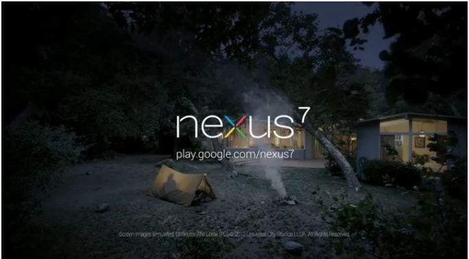 All'avventura con Nexus 7: ecco il primo spot per il tablet Googl