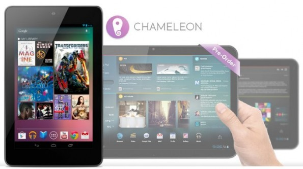 Chameleon UI si mostra in video su Nexus 7