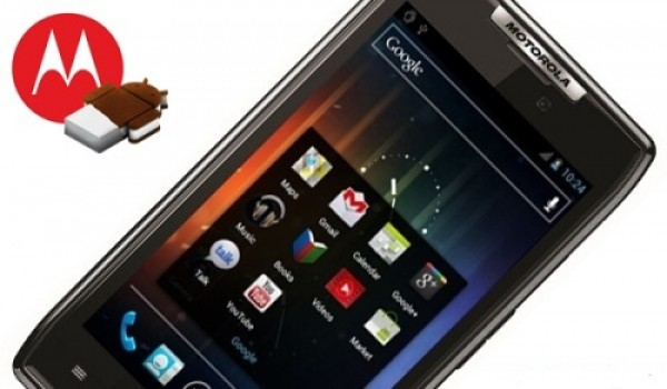 Iniziato il roll-out di Ice cream sandwich per i Motorola GSM in Asia