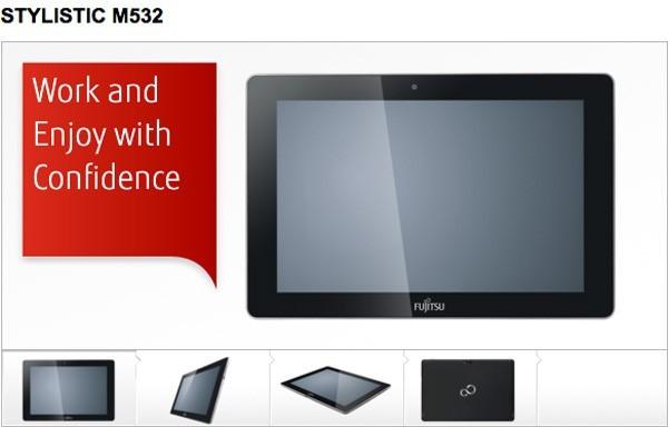 Alla FCC appare Stylistic M532, il nuovo tablet di Fujitsu