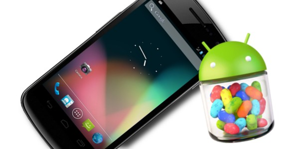 Galaxy Nexus: iniziato il roll-out di Android 4.1.1 Jelly Bean in Italia