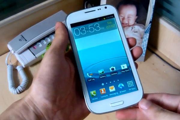 Ecco il primo clone cinese del Galaxy S III