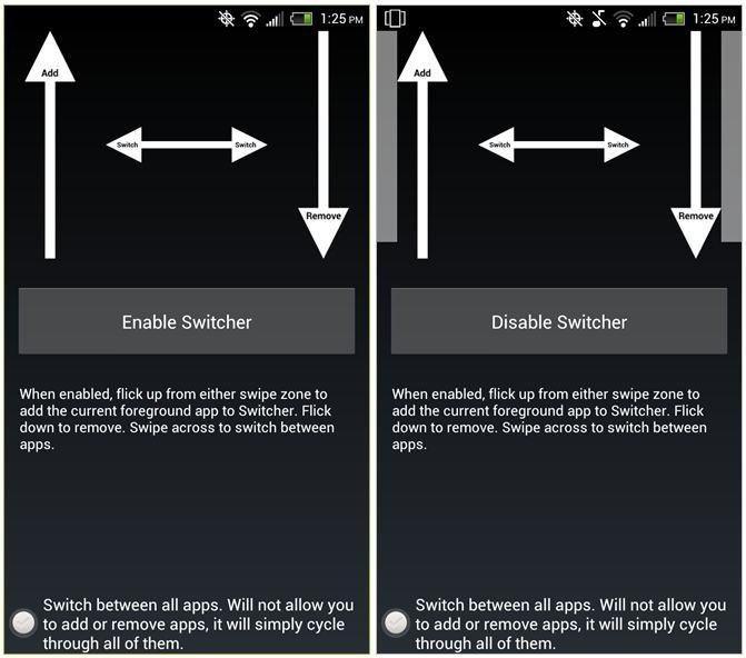 Arriva Switcher: un nuovo modo di scorrere le applicazioni aperte