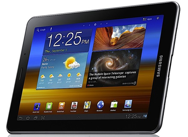 Ice Cream Sandwich in arrivo per i Galaxy Tab: si parte dal 7.7