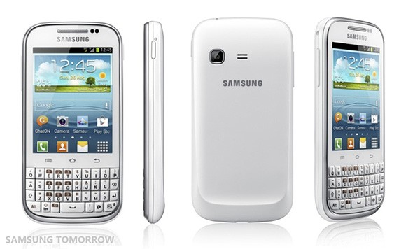 Samsung annuncia il Galaxy Chat con Android 4.0 e QWERTY