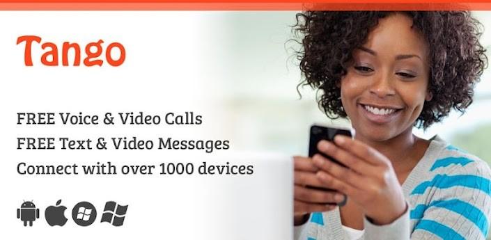 Il nuovo aggiornamento di Tango Videocall introduce i messaggi gratis