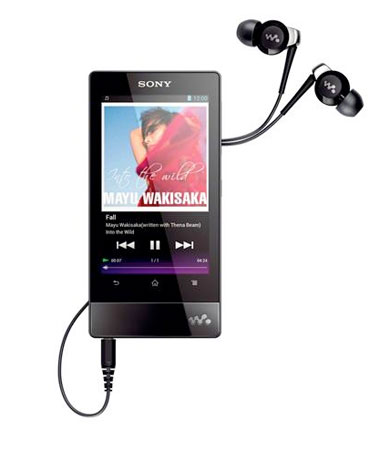 Sony svela il nuovo Walkman F800 con Ice Cream Sandwich