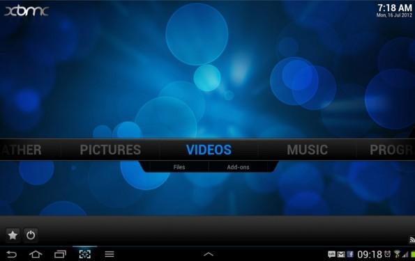 XBMC disponibile per Android: ecco una piccola anteprima