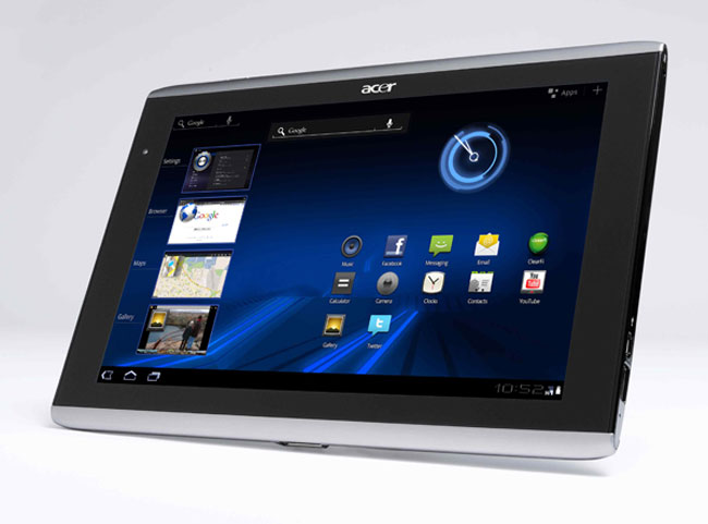 Disponibile l'aggiornamento ad Ice Cream Sandwich per Acer Iconia A501