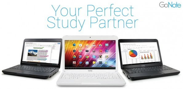 GoNote Netbook: nuovo dispositivo ibrido con Android 4.0 Ice Cream Sandwich