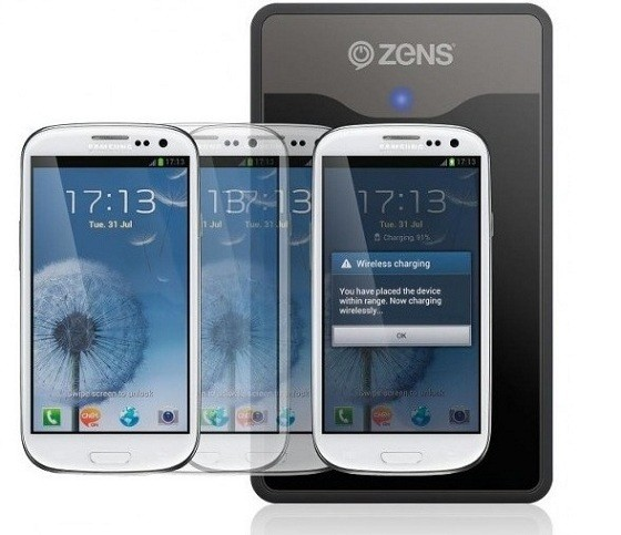 A settembre ZENS commercializzerà il Wireless Charging Kit per il Galaxy S3