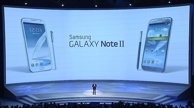 Presentato ufficialmente da Samsung il Galaxy Note 2 [IFA 2012]
