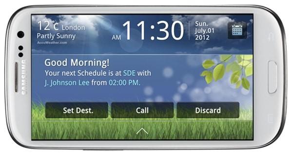 Samsung Link Drive: ecco la nuova applicazione Auto per S3!