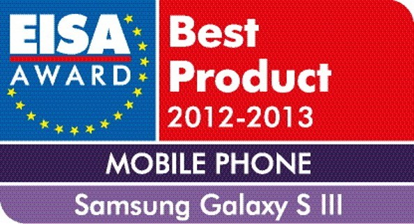 Galaxy S3 miglior telefono agli EISA Awards