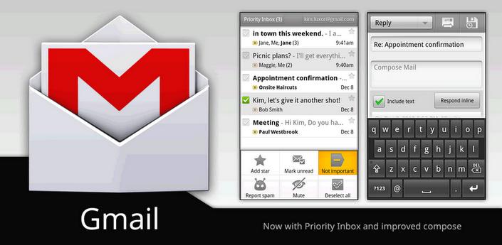 Disponibile un nuovo aggiornamento per Gmail