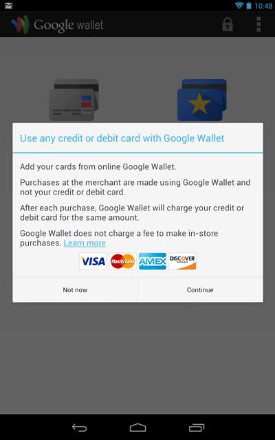 Google Wallet si aggiorna : ora supporta anche i bancomat