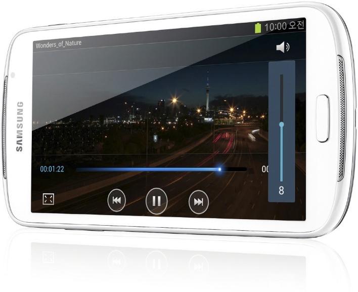 Samsung presenta ufficialmente il suo nuovo lettore multimediale: ecco il Galaxy Player 5.8