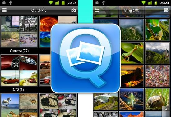 Stufi della solita galleria immagini piena di CDCover e icone? QuickPic farà al caso vostro!