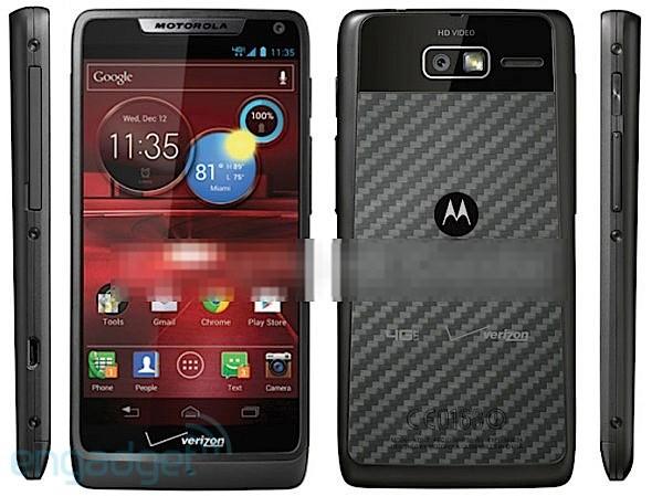 Motorola Droid RAZR M 4G LTE: nuove immagini e specifiche tecniche