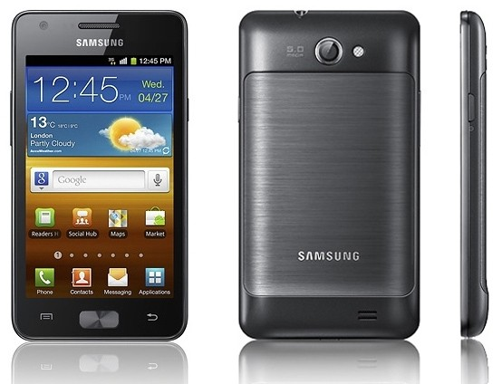 Iniziato il roll-out di Ice Cream Sandwich per Samsung Galaxy R [I9103]
