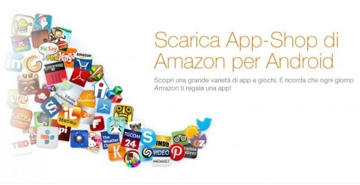 Finalmente arriva in Italia l'Amazon App Shop (App Store)