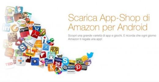 Finalmente arriva in Italia l'Amazon App Shop (App Store)