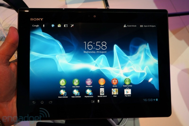 Sony Xperia Tablet S: foto e video hands-on [IFA 2012]