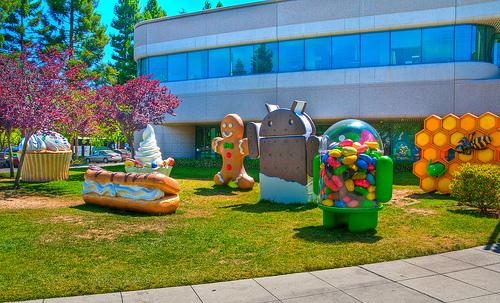 La storia di Android: dalla A alla J