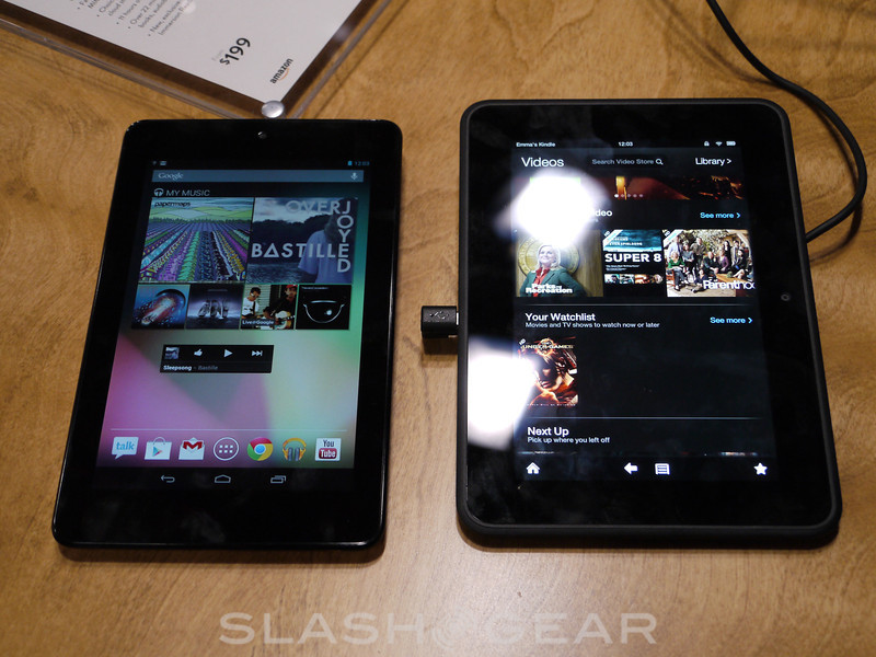 Tablet low-cost: Kindle Fire HD o Nexus 7?