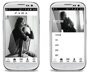 Samsung  presenta l'esclusiva l'applicazione Zara per tutti gli amanti della moda
