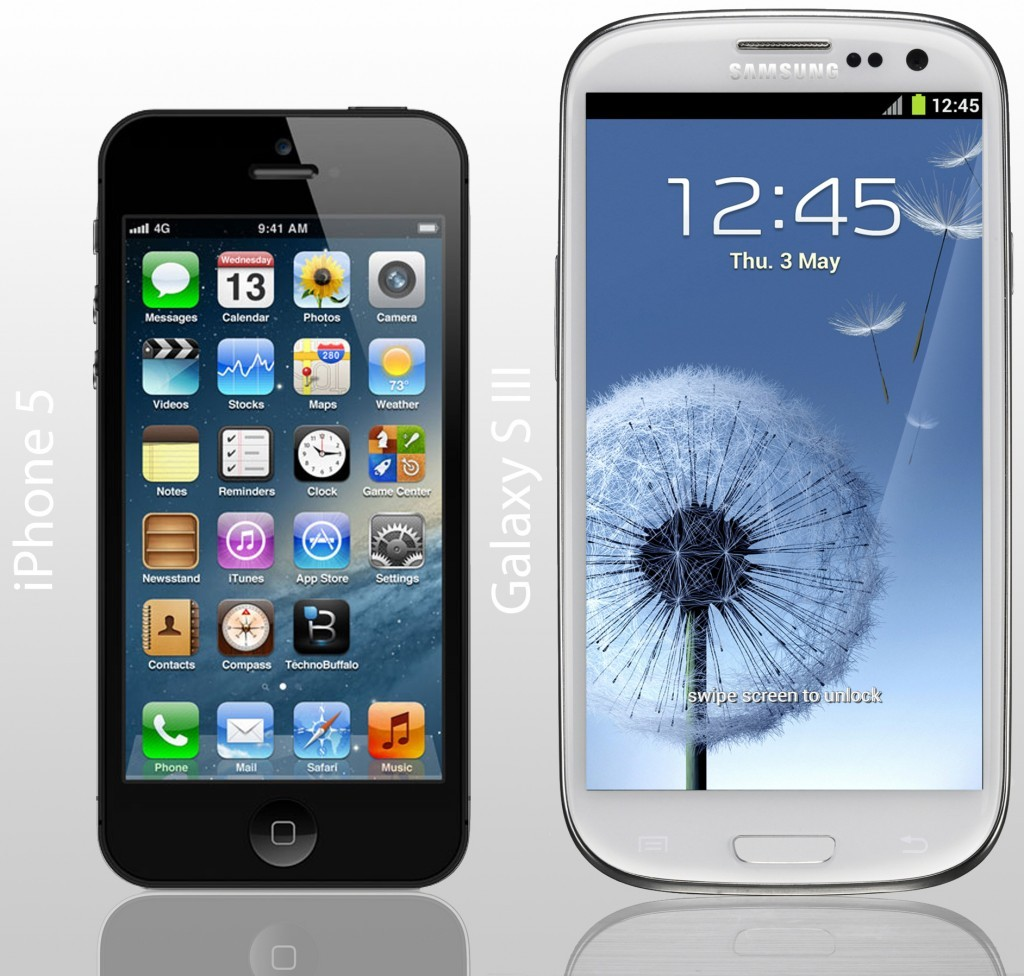 iPhone 5 Vs Galaxy S III - Androidiani.com