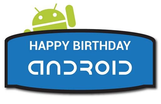 Buon Compleanno Android: quattro anni pieni di successi