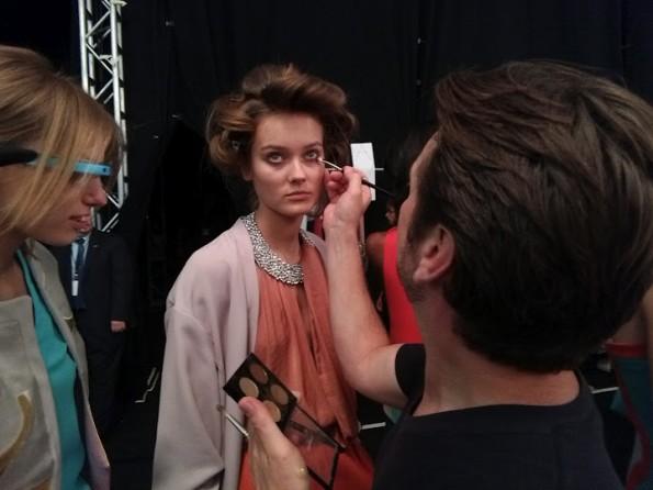 I Google Glass sfilano durante la New York Fashion Week