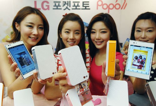 LG Pocket Printer: stampante portatile per i nostri smartphone
