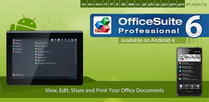 Disponibile un nuovo aggiornamento per OfficeSuite Pro 6