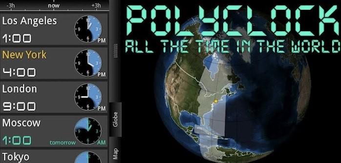 PolyClock World Clock gratis sull'Amazon App Store