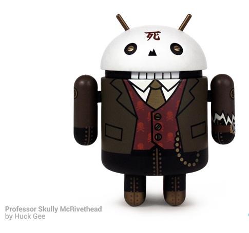 Professor Skully McRivethead: ecco un altro mini-Android da collezione della nuova Serie 3