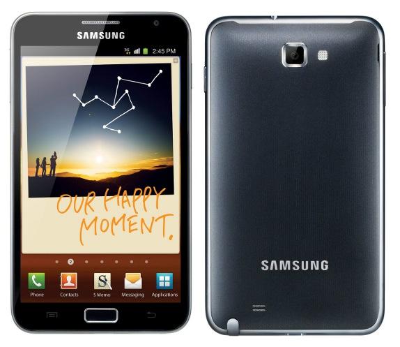 Nuovo aggiornamento N7000DBTLRQ per Galaxy Note che porta la TouchWiz del Galaxy S III