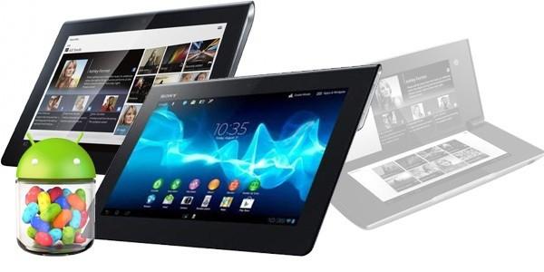 Sony Tablet S: aggiornamento a Jelly Bean per Febbraio 2013