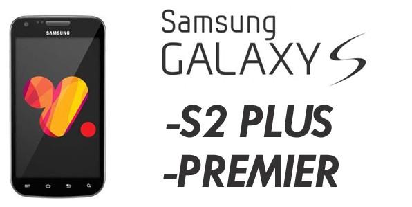 Samsung Galaxy S II Plus e Galaxy Premier: ecco le schede tecniche