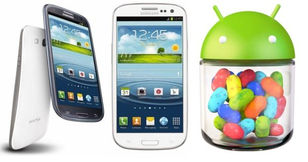 Samsung Galaxy S III: disponibile nuovo firmware leaked di Jelly Bean
