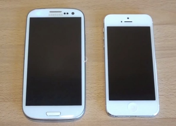 Samsung Galaxy S III vs Apple iPhone 5: ecco un primo confronto [VIDEO]