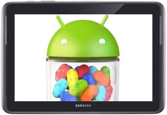 Samsung Galaxy Note 10.1: primo update OTA con Jelly Bean dall'India