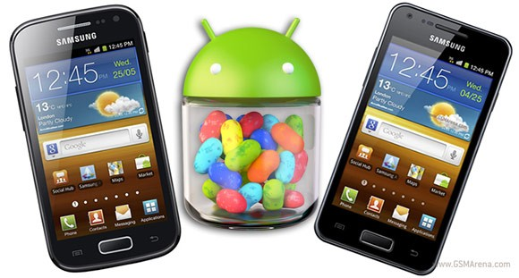 Jelly Bean forse arriverà su Samsung Galaxy Ace 2 e Galaxy S Advance [UPDATE: Galaxy S II]
