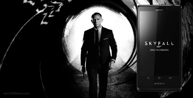 Sony Xperia T James Bond edition: ecco alcuni sfondi e suonerie