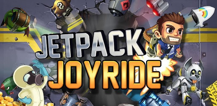 Jetpack Joyride diponibile per il download sul Google Play Store