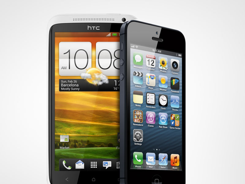 Nuovo video-confronto: anche HTC One X si scontra con iPhone 5