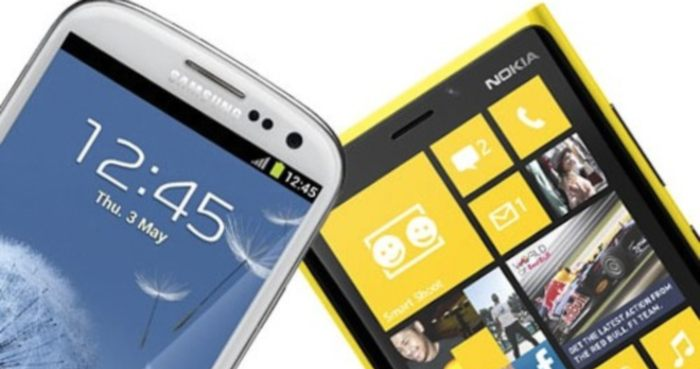 Sfida fra top di gamma: Galaxy S3 vs iPhone 5 vs Lumia 920